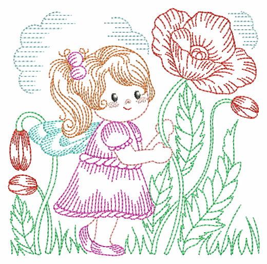 Vintage Flower Fairy-6