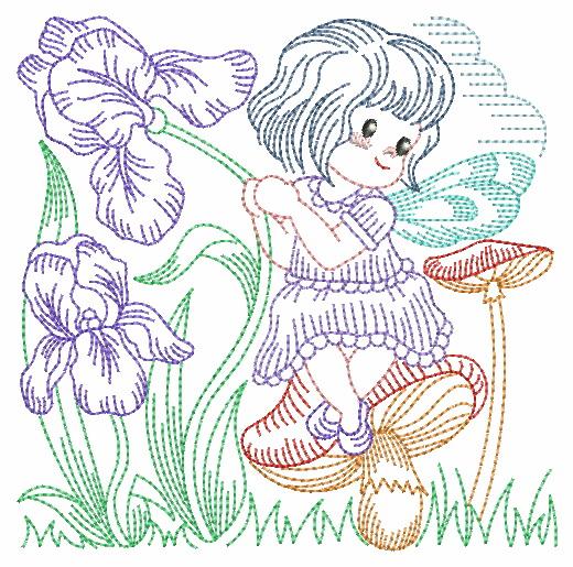 Vintage Flower Fairy-10