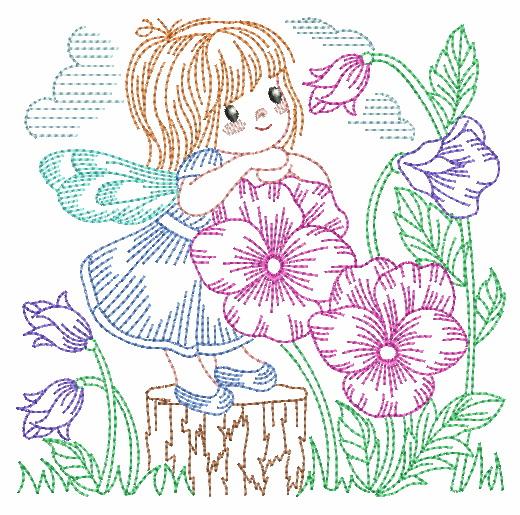 Vintage Flower Fairy-11