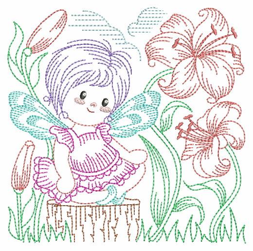 Vintage Flower Fairy-12
