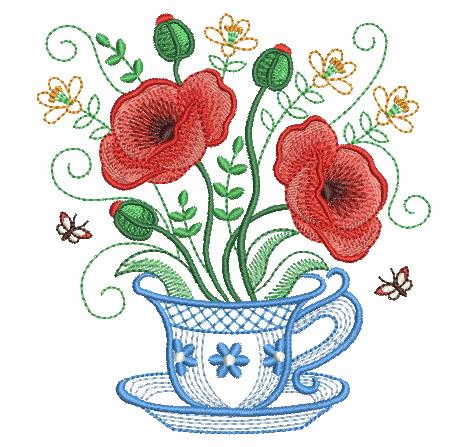Teacup In Bloom 5-3