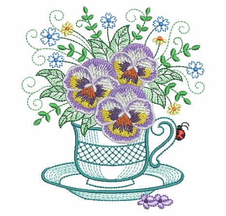 Teacup In Bloom 5-6