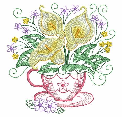 Teacup In Bloom 5-7