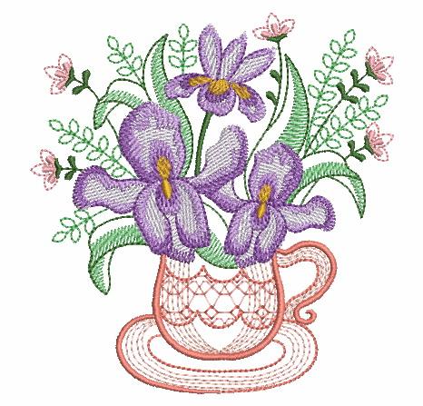Teacup In Bloom 5-8