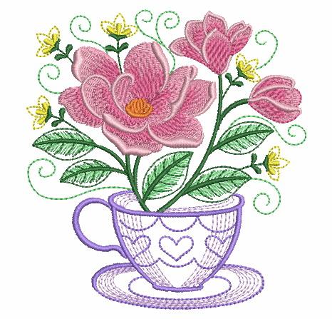 Teacup In Bloom 5-10