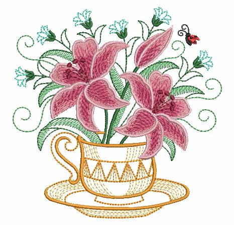 Teacup In Bloom 5-11