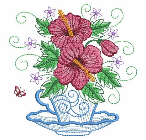 Teacup In Bloom 5-12