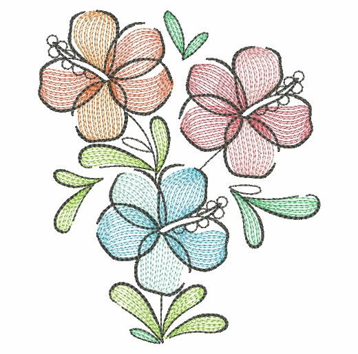 Doodle Flowers 4-3