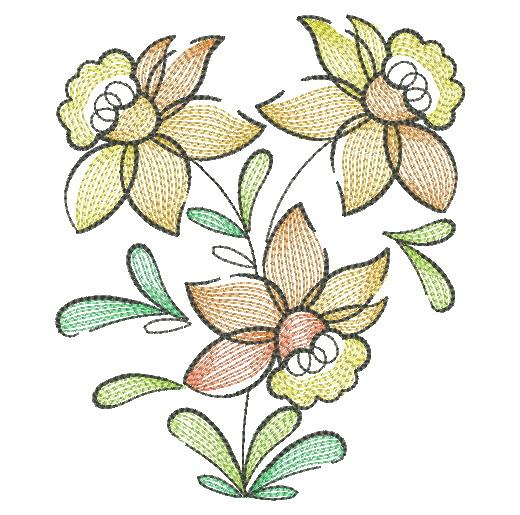 Doodle Flowers 4-5
