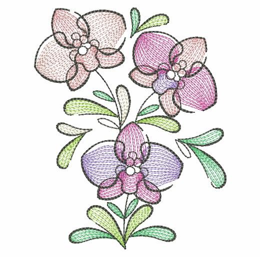 Doodle Flowers 4-6
