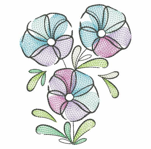 Doodle Flowers 4-7