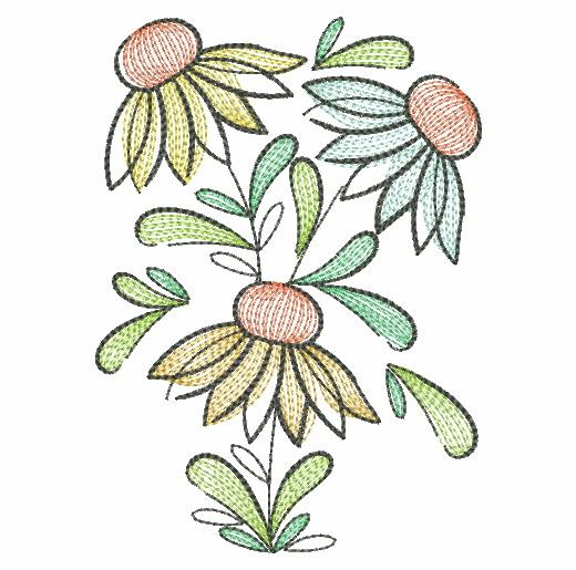 Doodle Flowers 4-8