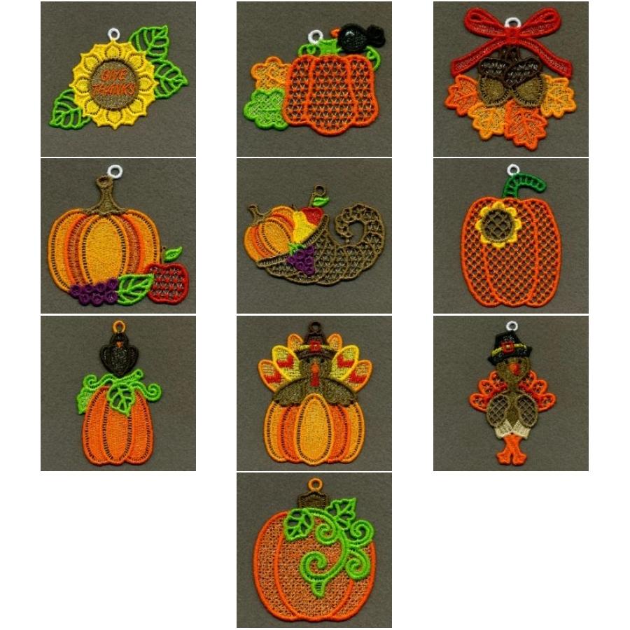 FSL Thanksgiving Ornaments