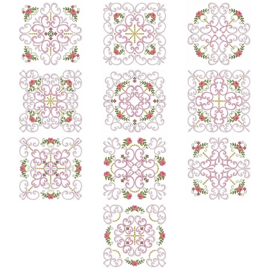 Filigree Roses Quilt 2
