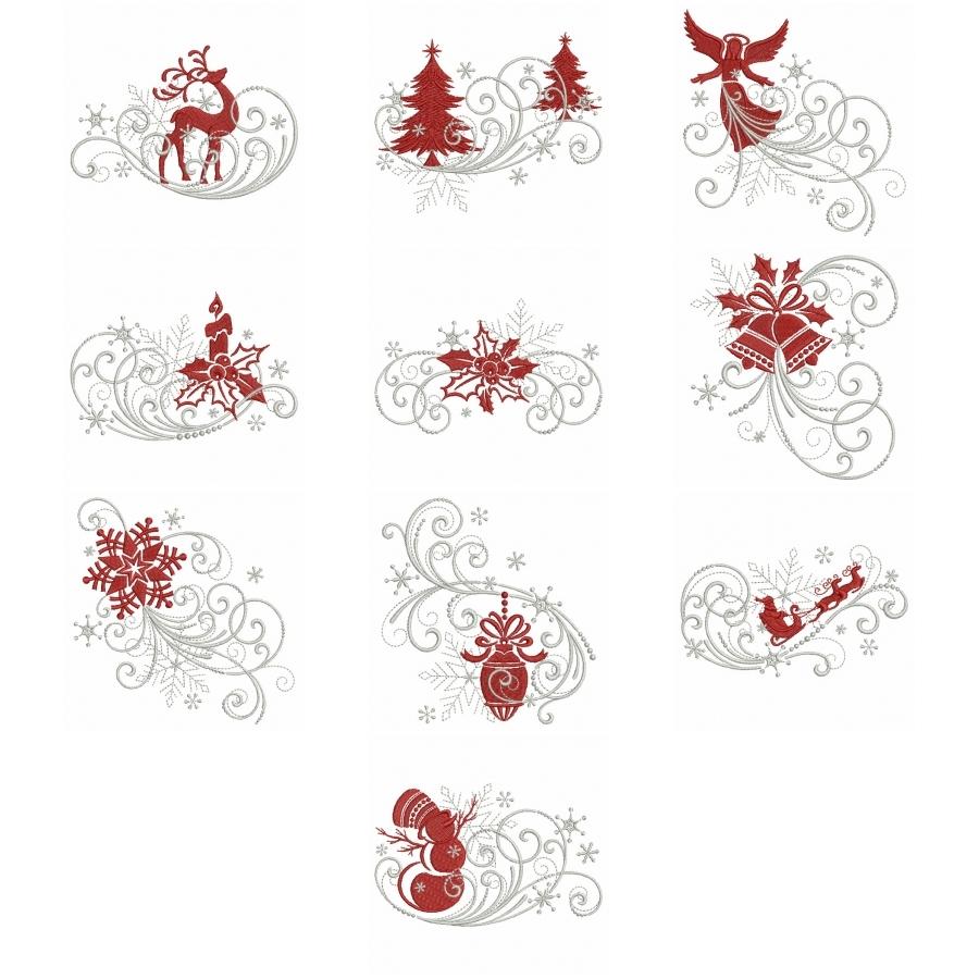 Filigree Christmas Ornaments 2