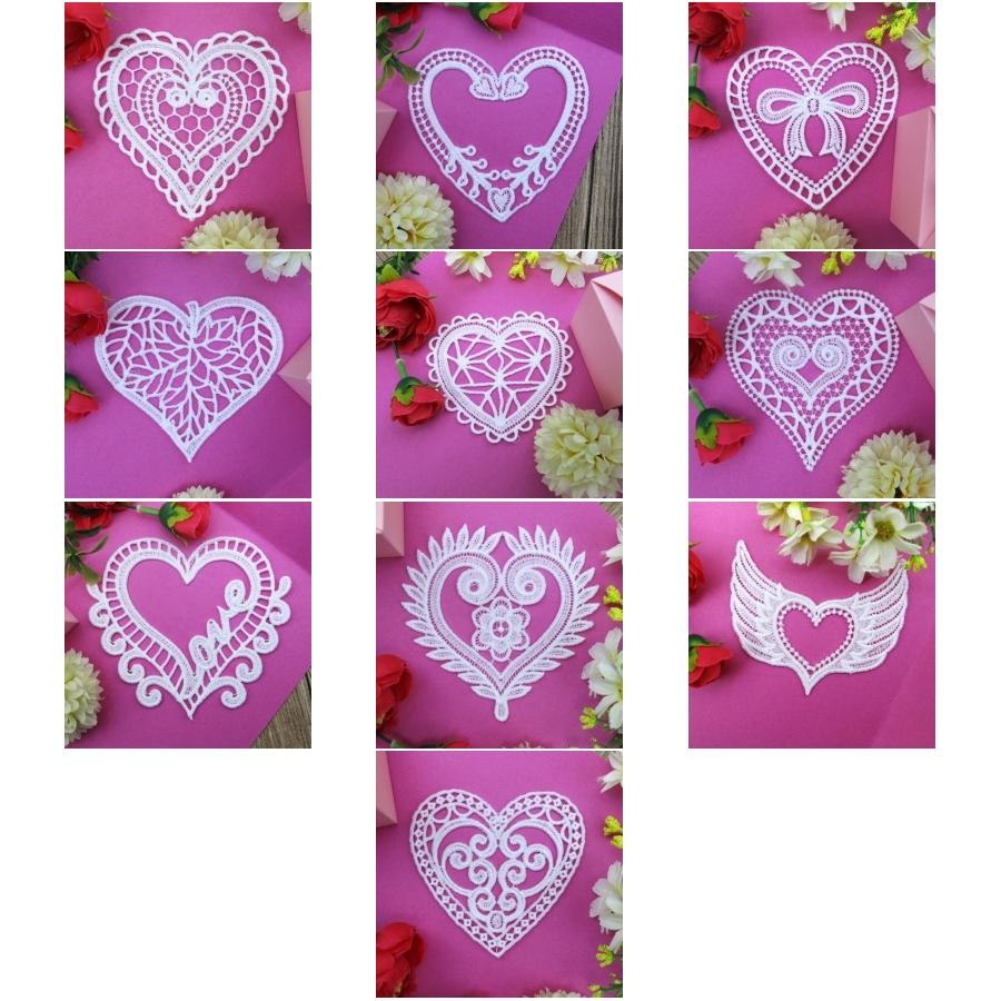 FSL White Hearts 4