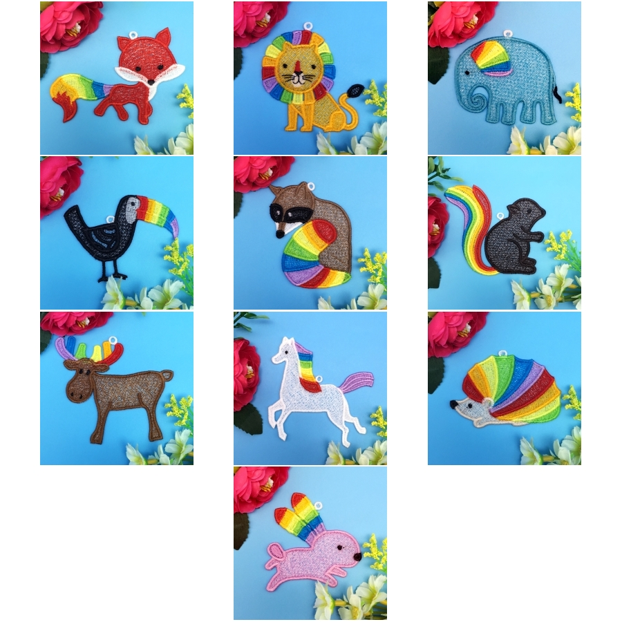 FSL Rainbow Animals