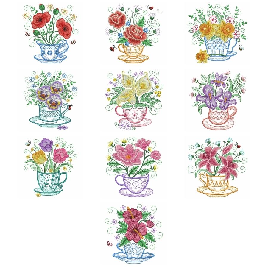 Teacup In Bloom 5