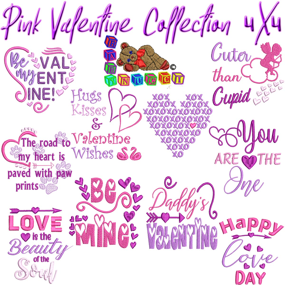 Pink Valentine Collection