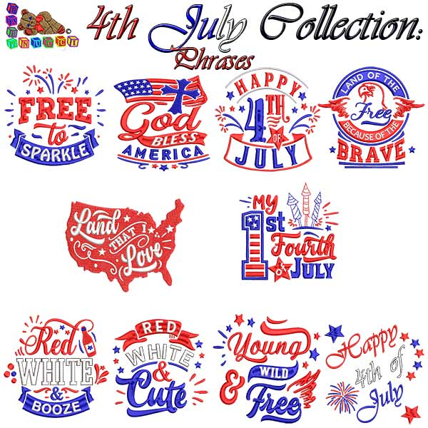 4th July Collection Phrases