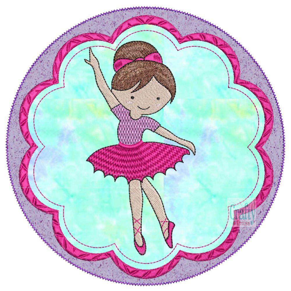 Ballerinas Applique-3