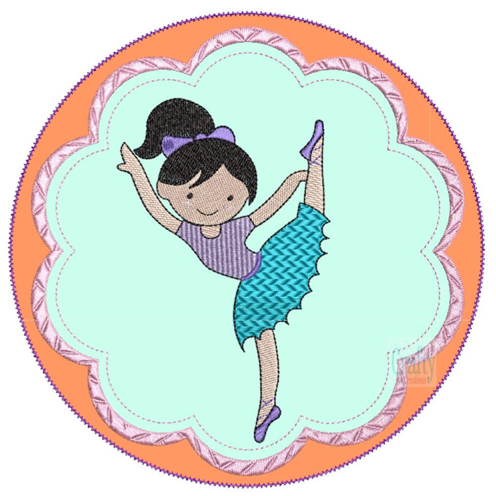 Ballerinas Applique-5