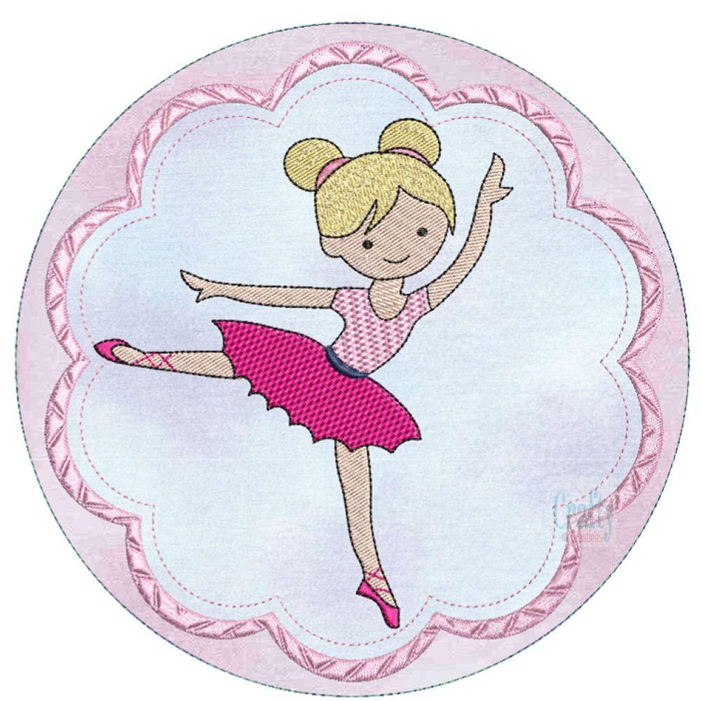 Ballerinas Applique-6