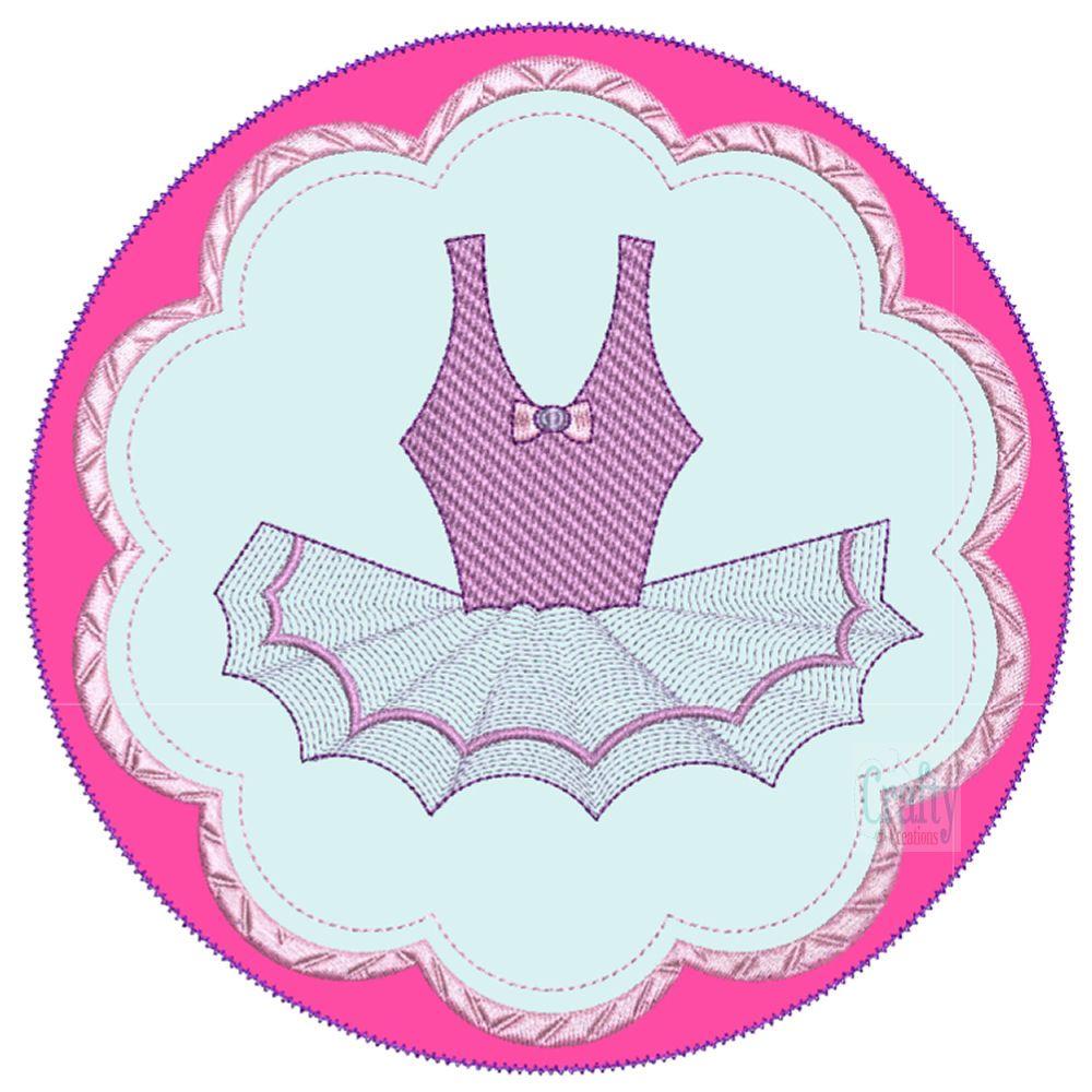 Ballerinas Applique-9