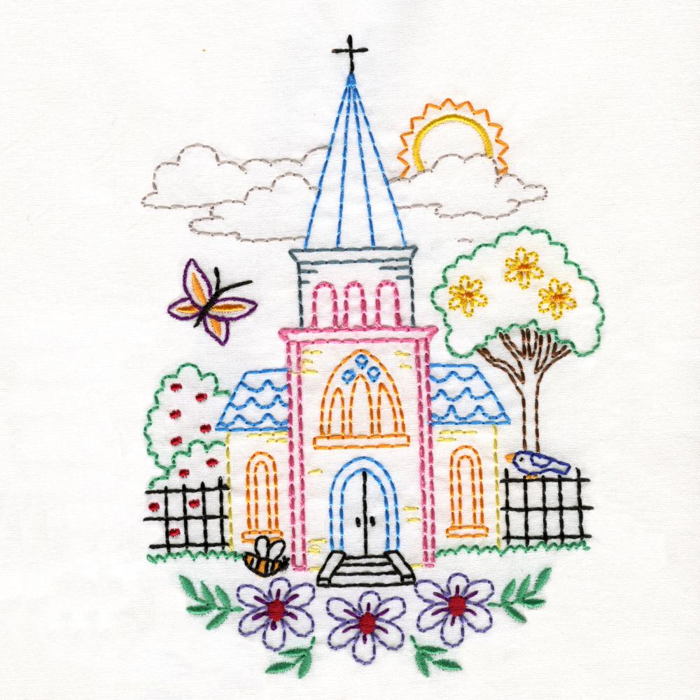 Charming Churches Set-4