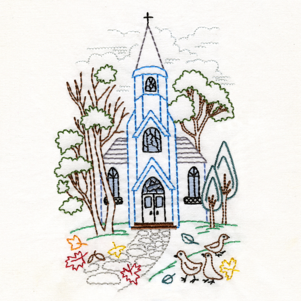 Charming Churches Set-8
