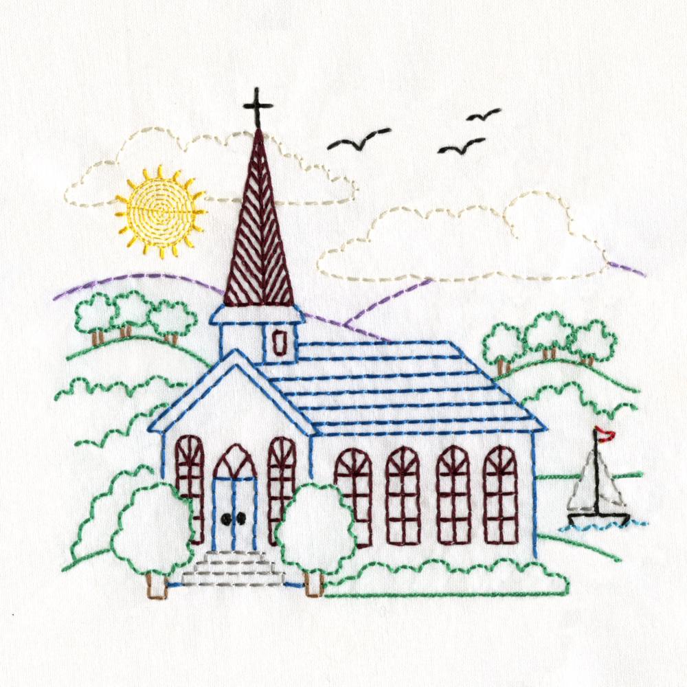 Charming Churches Set-9