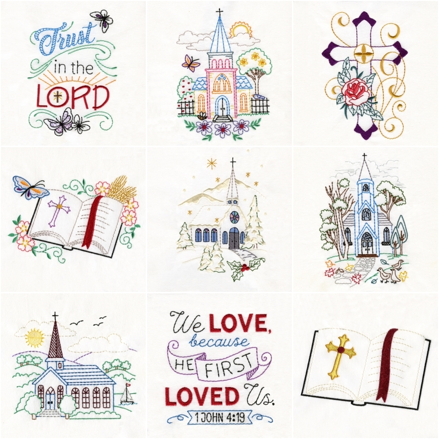 Charming Churches Set