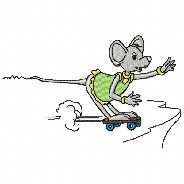 LITTLE HOUSE MOUSE-9