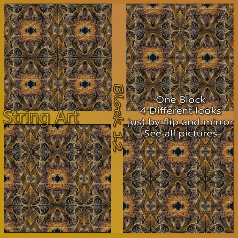 Dass001089 2-12 Singles String art
