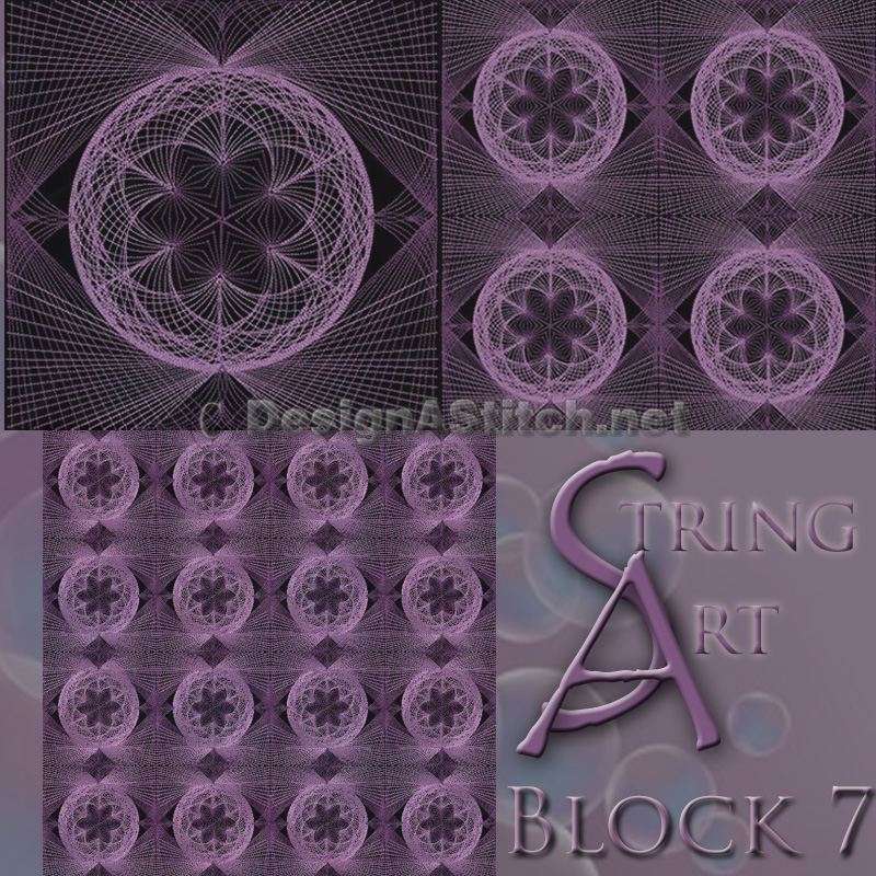 Dass001089 2-7 Singles String art