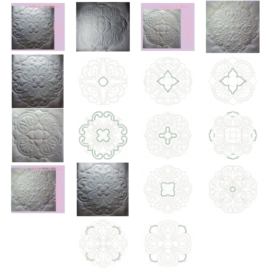 DASS0094 CIRCLE PATTERNS
