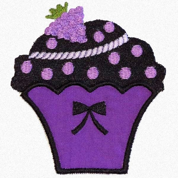 Little Cupcake Applique