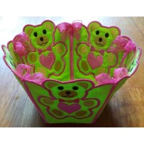 Teddy Bear Basket