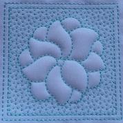 Trapunto Flower Blocks-5