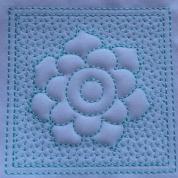 Trapunto Flower Blocks-6