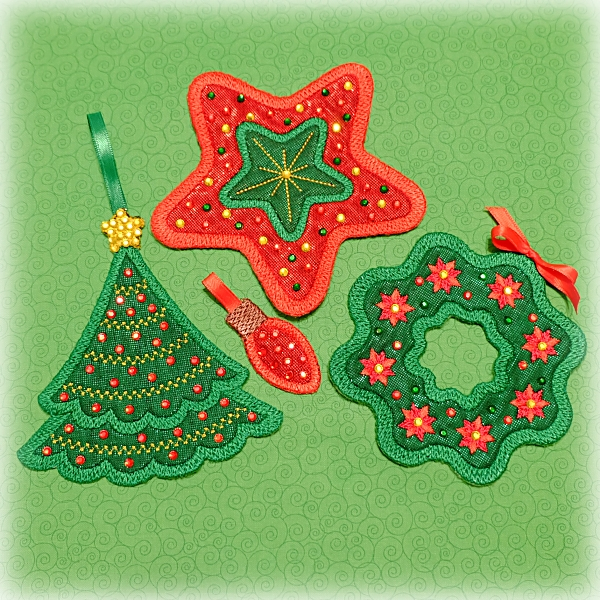 Christmas Elegant Outlines