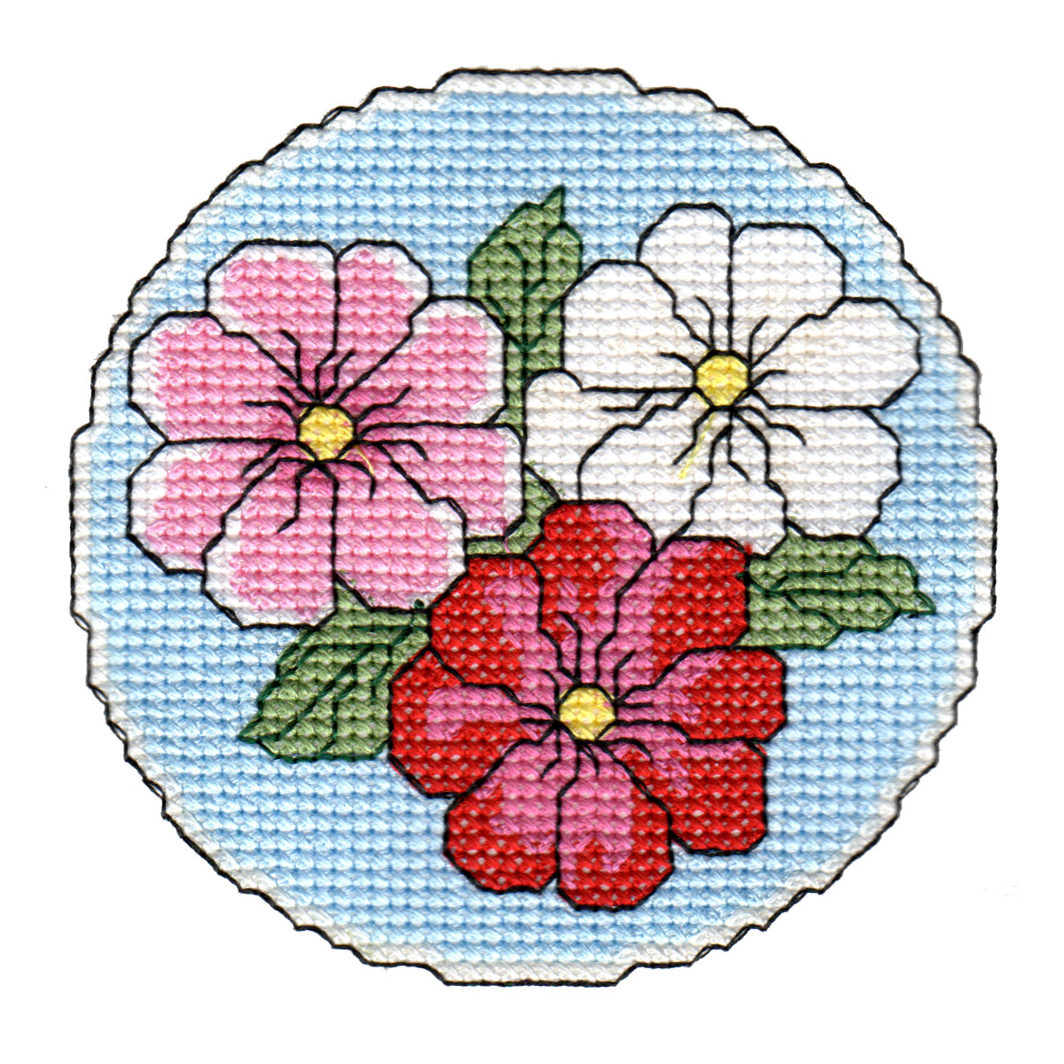 Floral Coasters-7
