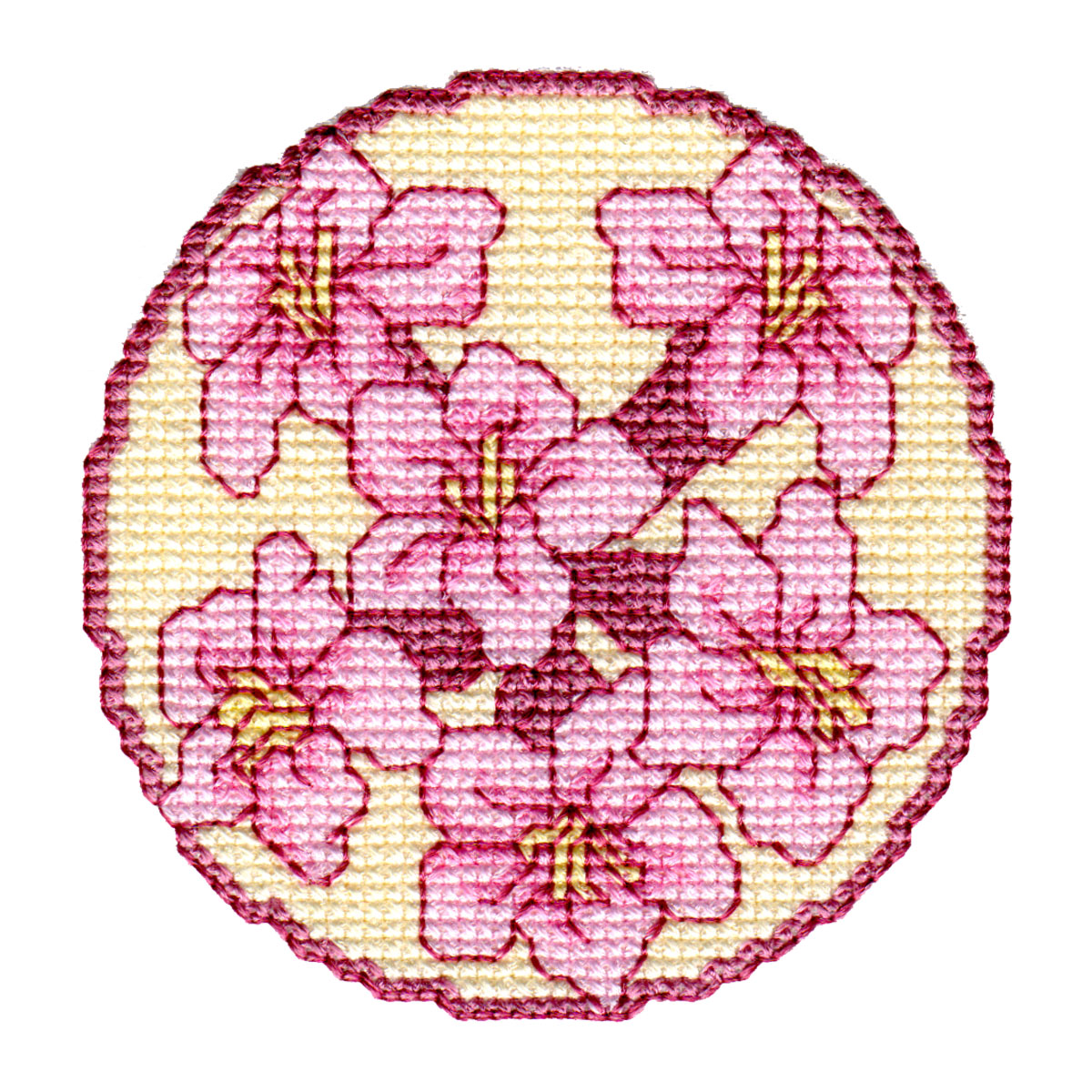 Floral Coasters-8