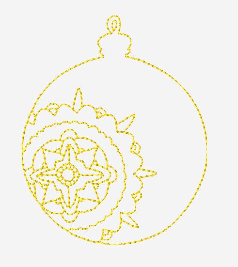 Color Work Ornaments-3