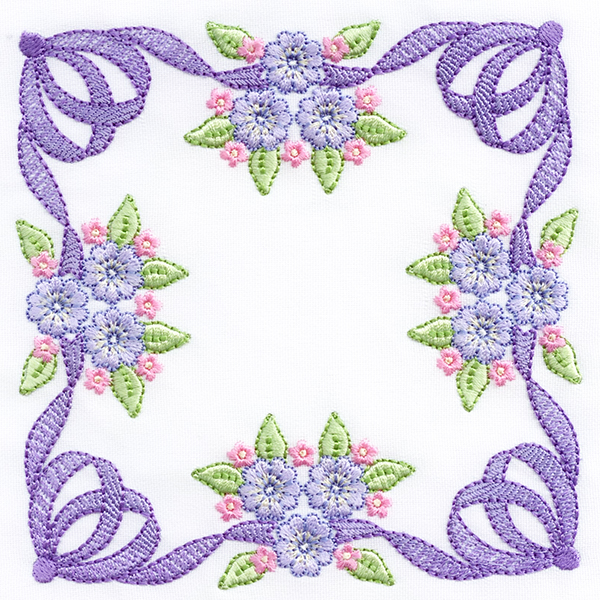 FOREVER BOWS 8X8 LARGE QUILT BLOCKS -9