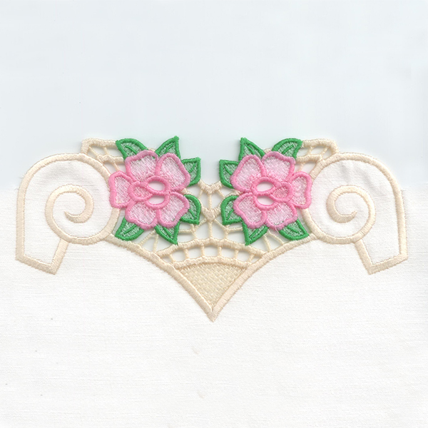 ROSSO CUTWORK LACE -4