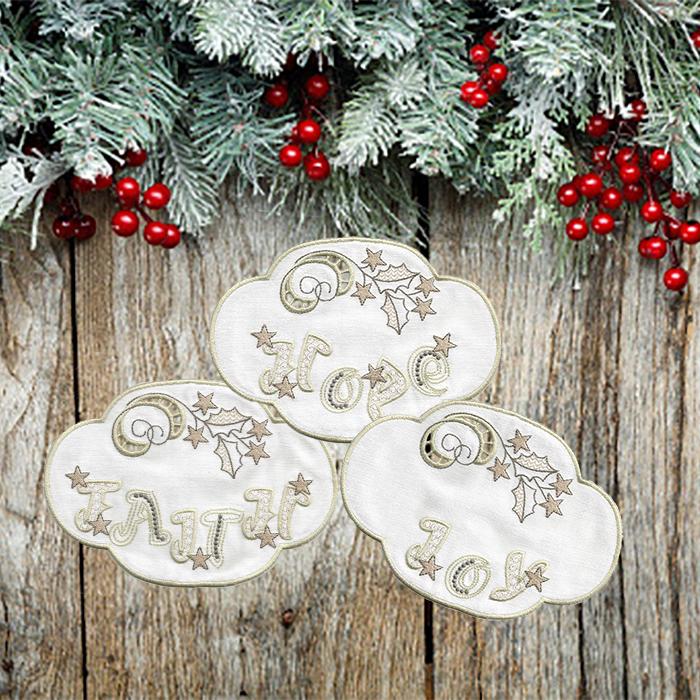 WHITE CHRISTMAS DOILIES-14