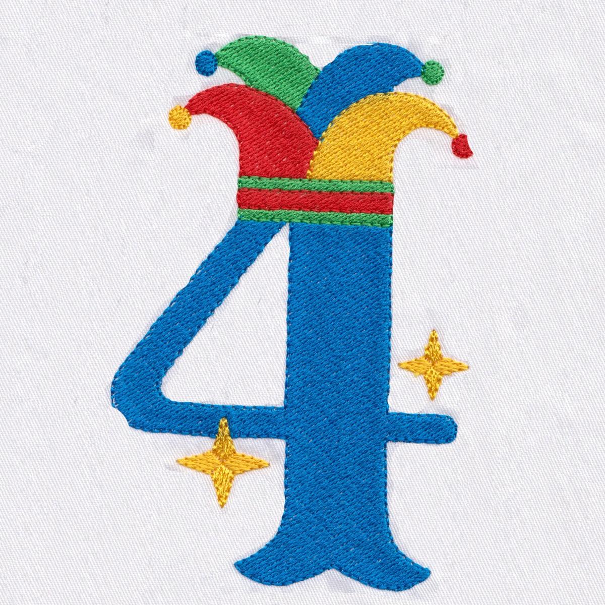 Circus Carnival Numbers-7