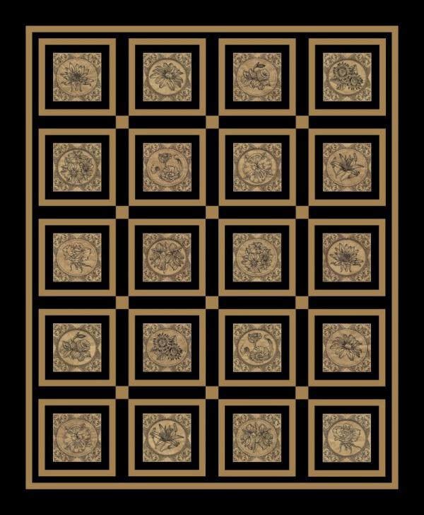 Flower Blocks 2 -25