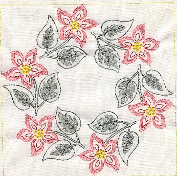Floral Quilt 8-3